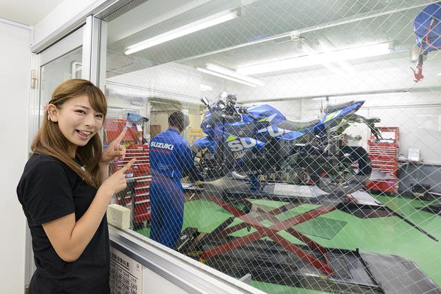 画像6: 葉月美優 in スズキワールド新宿【オートバイ女子部のフォトアルバム】
