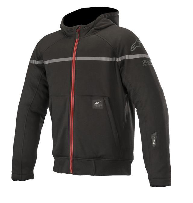 画像2: あなたはどっち派? アルパインスターズから気軽に着られるパーカースタイルのライディングジャケットが2種類、新登場!