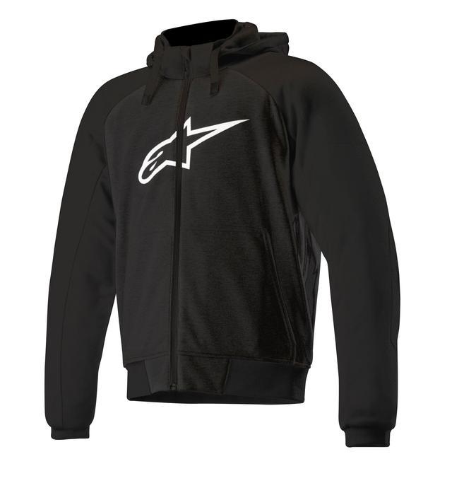 画像3: あなたはどっち派? アルパインスターズから気軽に着られるパーカースタイルのライディングジャケットが2種類、新登場!