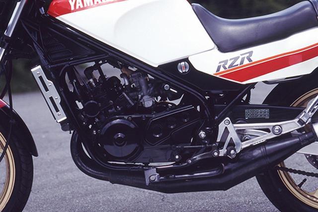 画像9: RZシリーズの最終型となった1988年デビューの5世代目「RZ250R(3HM1)」