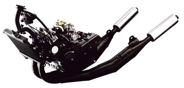 画像5: RZシリーズの最終型となった1988年デビューの5世代目「RZ250R(3HM1)」