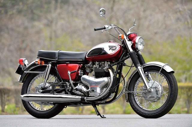 画像: カワサキ 650-W1(1966年)