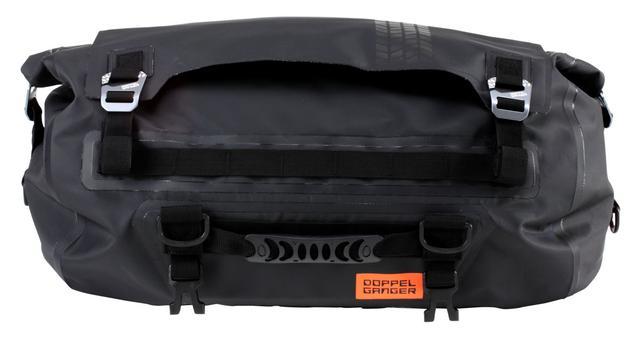 画像1: ドッペンギャンガー「ターポリンツーリングドラムバッグ DBT511-BK」
