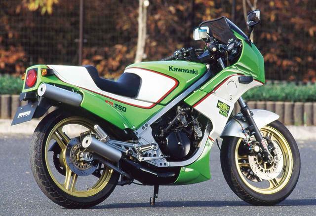 画像5: レーサーKR250の技術を受け継ぐ公道モデルとして誕生した250ccスポーツ