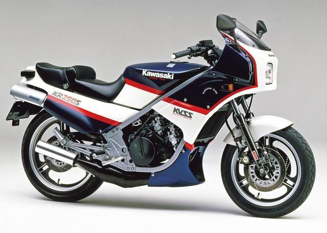 画像: KR250S (KR250A2)1985 1985年4月15日発売 当時価格:49万8000円