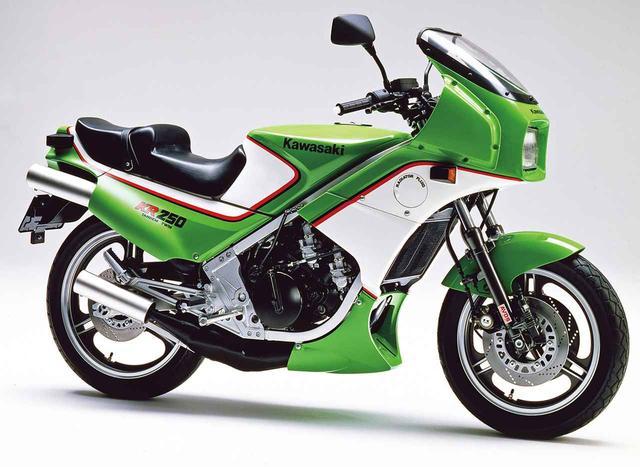 画像: KR250 (KR250A1)1984 1984年4月15日発売 当時価格:49万8000円