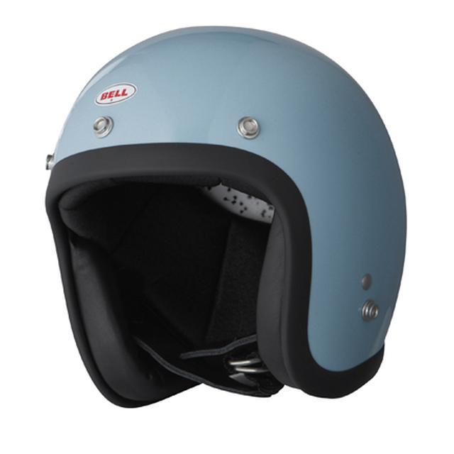 画像: 500-TXJ BLUE-GRAY ネオクラシックなマシンに合わせたカラーリング。 価格:¥22,000(税別)※予価