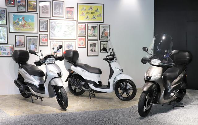 画像1: プジョーのバイクは赤坂のショールームで試乗できます!