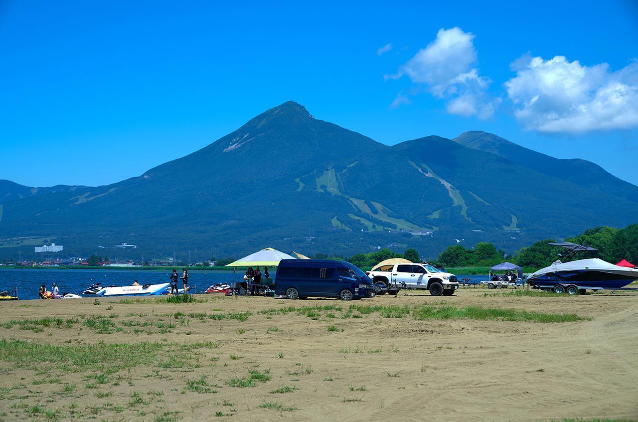 画像: 天神浜オートキャンプ場「HondaGO BIKE STAND」概要