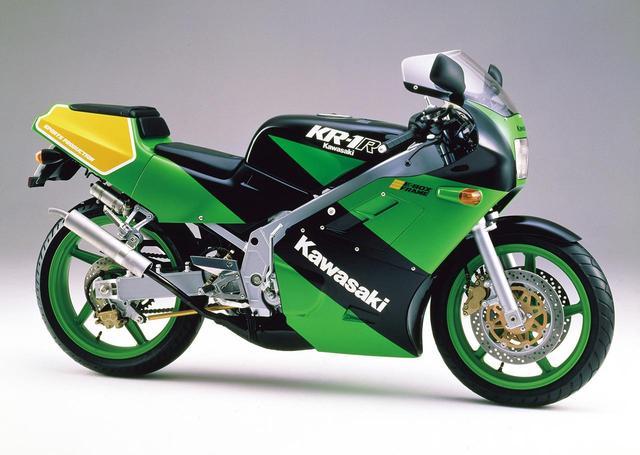 画像: KR-1R(KR250C)1989 1989年4月10日発売 59万9000円+消費税3%