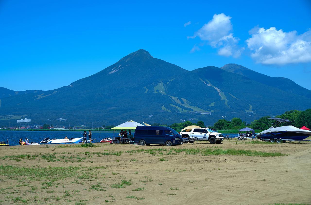 画像: 天神浜オートキャンプ場(福島県耶麻郡猪苗代町中小松四百刈)/8月30日(金)からサービスを開始しました。