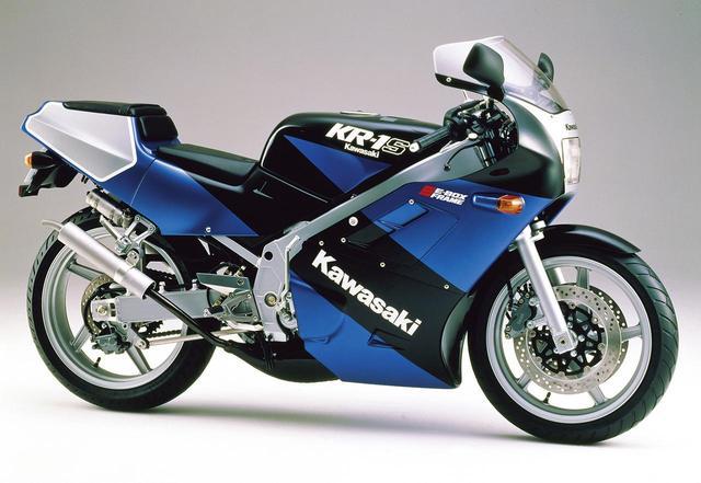 画像: KR-1S(KR250C)1989 1989年4月10日発売 55万9000円+消費税3%