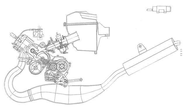 画像6: ツインスパーに並列2気筒を積むレースを視野に入れたフルカウルスポーツ
