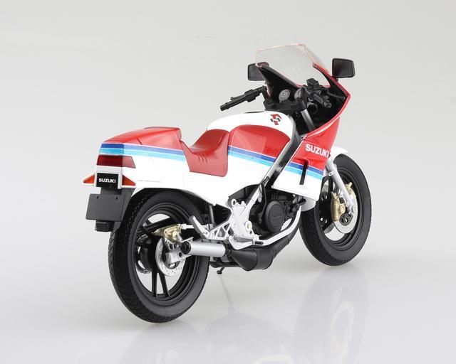 画像4: AOSHIMAの「ダイキャスト1/12 完成品バイク」シリーズにRG250Γ登場!