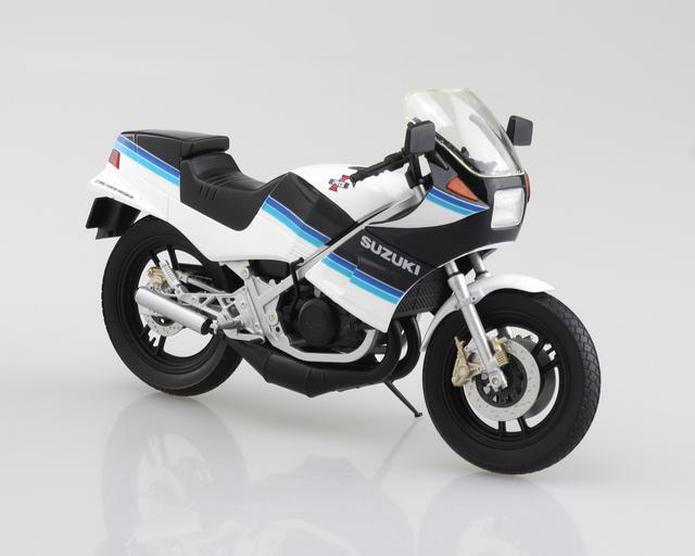 画像1: AOSHIMAの「ダイキャスト1/12 完成品バイク」シリーズにRG250Γ登場!