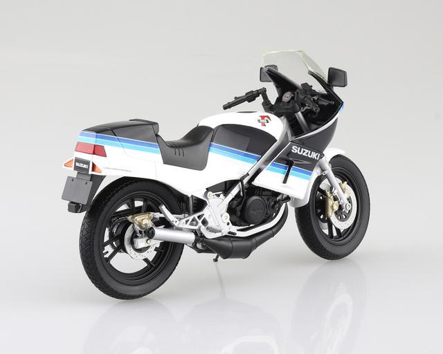 画像3: AOSHIMAの「ダイキャスト1/12 完成品バイク」シリーズにRG250Γ登場!