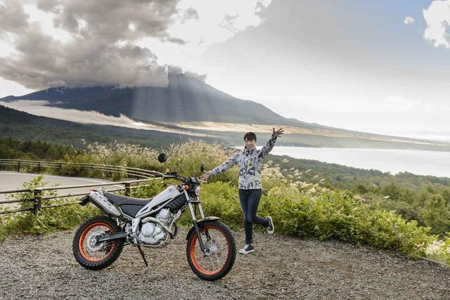 画像: ほぼ月刊「梅本まどかとオートバイ」vol.11 ヤマハ トリッカー - webオートバイ