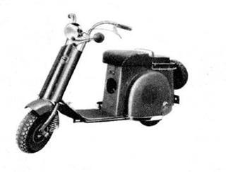 冨士工業 ラビットS-23 1949 年