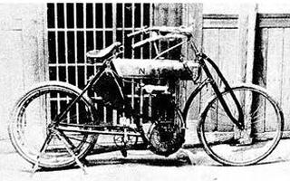 島津モーターNS 号1909 年