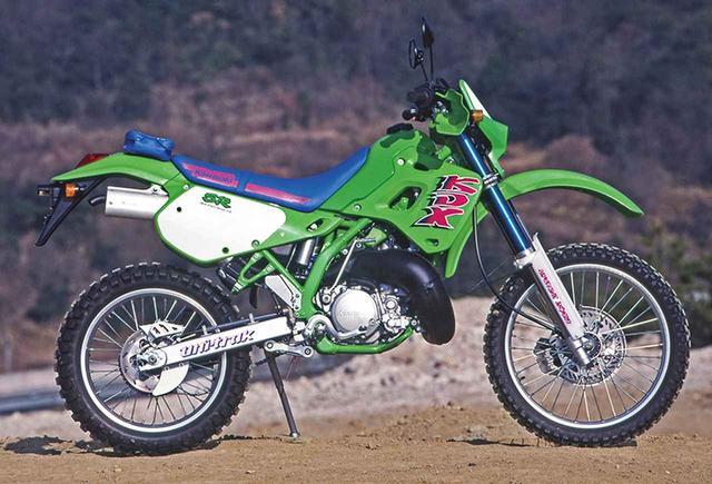 画像: 1991 KDX250SR(DX250F)