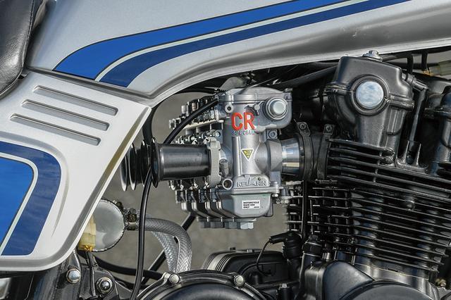 画像: キャブレターはCRφ31mmで点火はウオタニSP2。新品同等以上の質を作り込んだT.T.Rリビルドエンジンにも良く合う組み合わせ。