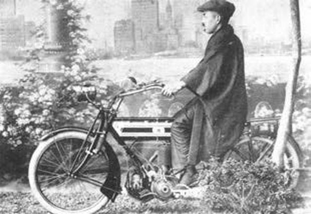 画像: 宮田製作所 トライアンフ型アサヒ号 1913年