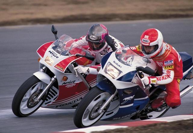 画像: 昭和61年 HONDA NSR250R【昭和vs平成 名車烈伝】(太田安治) - webオートバイ
