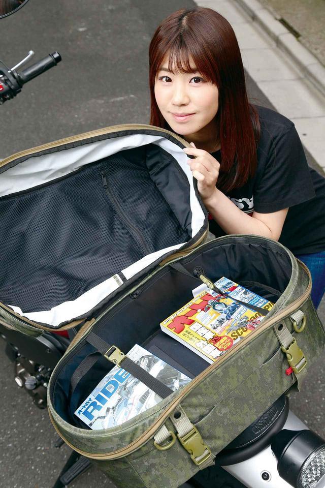 画像: シンプルデザインの背負えるシートバッグ!『GOLDWIN GWM X-OVER リアバッグ39』 - webオートバイ