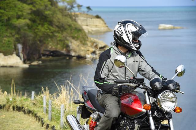 画像5: 能登路をゆっくりと。大型バイクにはない魅力がある