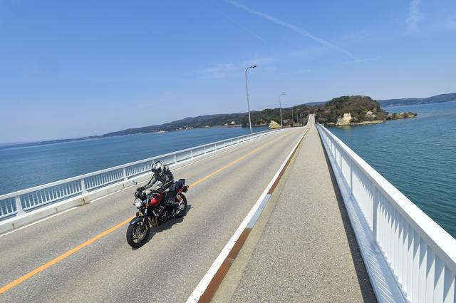 画像3: 能登路をゆっくりと。大型バイクにはない魅力がある