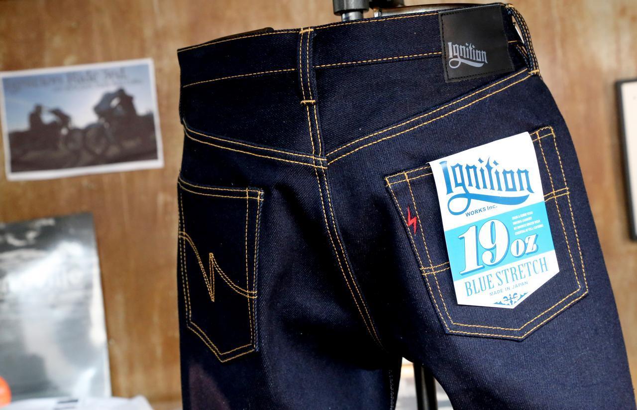 画像: 今後注目の新ブランド「Ignition」が製品を国内初お披露目! 19ozストレッチデニムという革命的な素材を生み出し、まずは米国で展開! - webオートバイ
