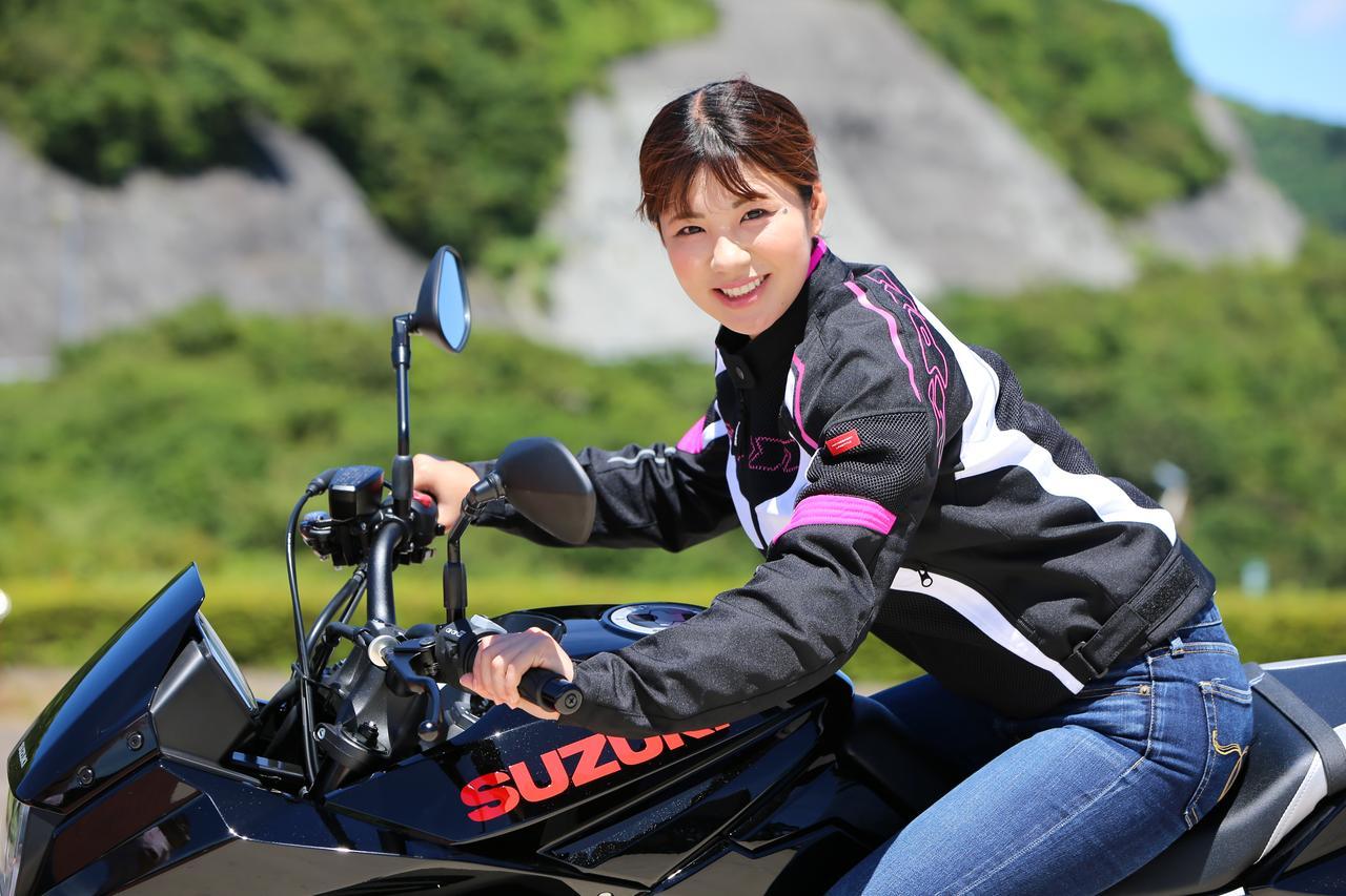 Images : 15番目の画像 - 【ゆるふわ 3枚刃】スズキKATANA試乗レポート!(梅本まどか) - webオートバイ