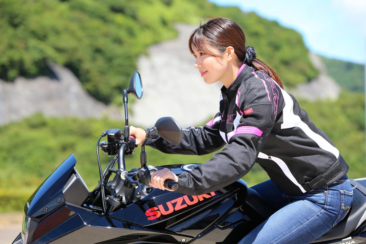 Images : 14番目の画像 - 【ゆるふわ 3枚刃】スズキKATANA試乗レポート!(梅本まどか) - webオートバイ