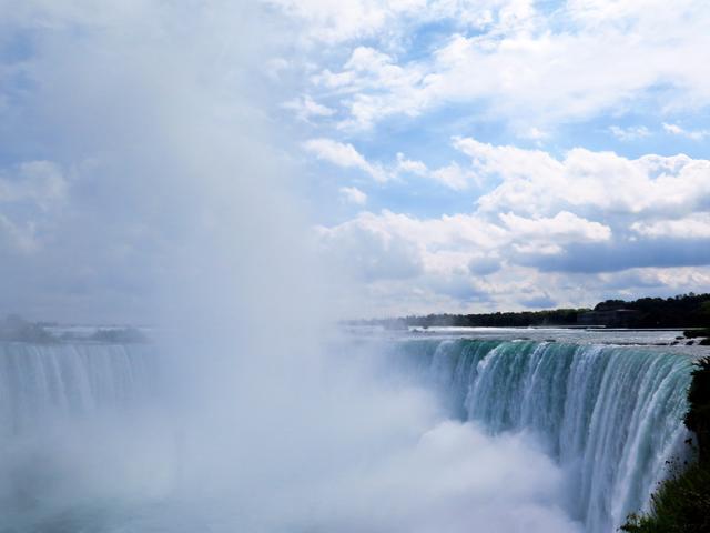 画像3: ナイアガラの滝はカナダとの間にある。ついでに国境を越えてみる!
