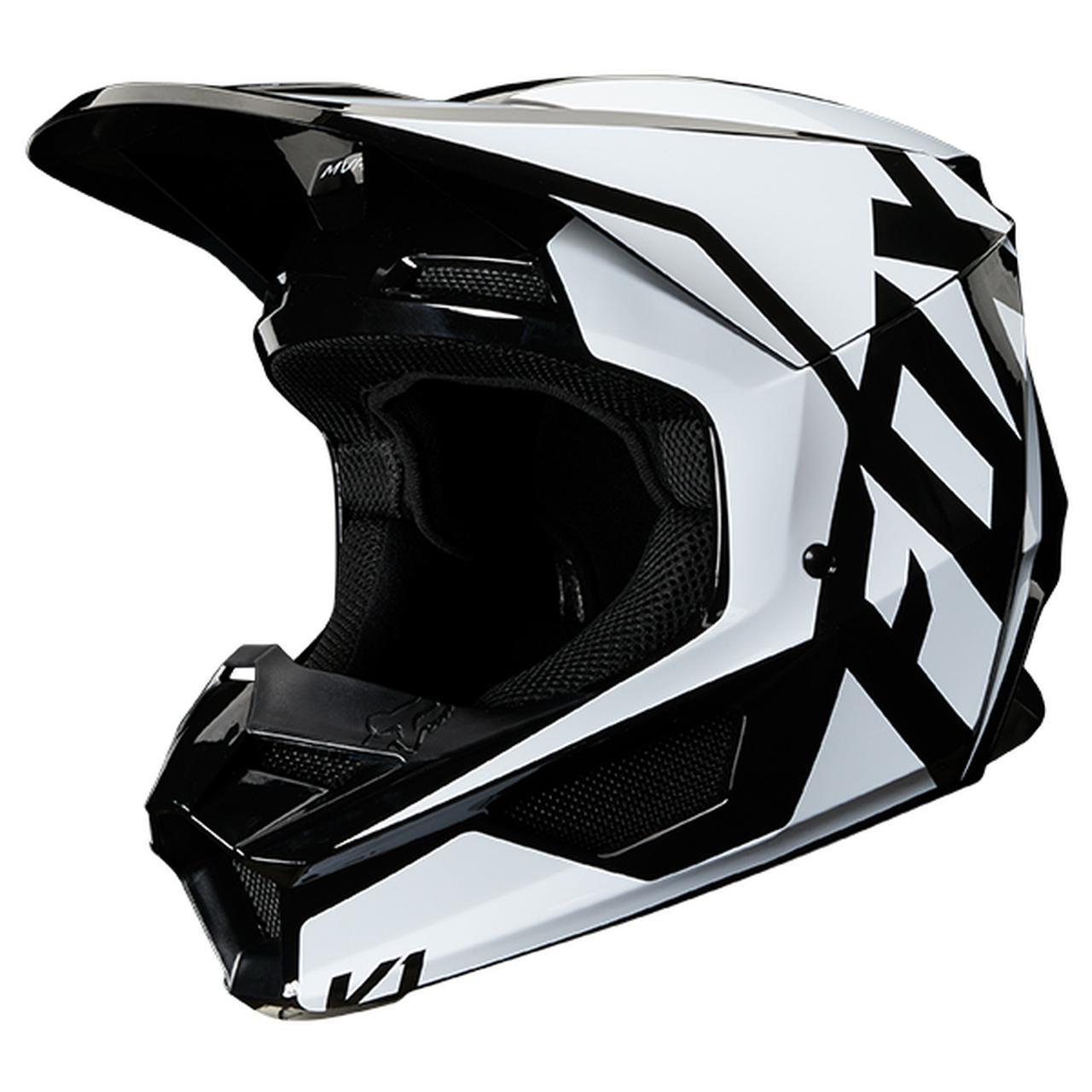 画像2: FOXの「V1 ヘルメット プリ」がかっこいい! 特許取得の「マグネッティック・バイザー・リリース・システム」を搭載