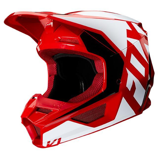 画像3: FOXの「V1 ヘルメット プリ」がかっこいい! 特許取得の「マグネッティック・バイザー・リリース・システム」を搭載