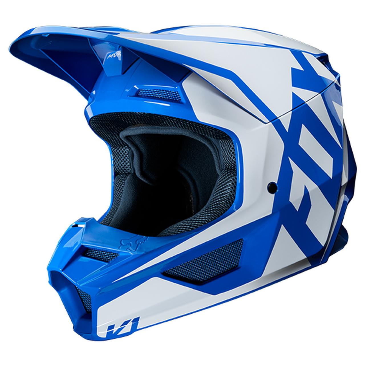 画像4: FOXの「V1 ヘルメット プリ」がかっこいい! 特許取得の「マグネッティック・バイザー・リリース・システム」を搭載