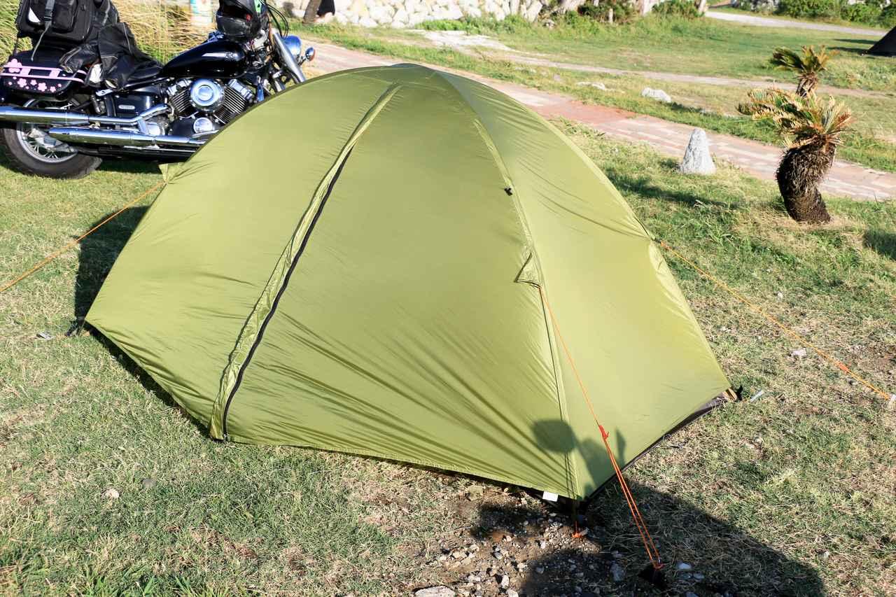 画像1: 【おまけ】使用テントはこちら! アライテント「トレックライズ1」