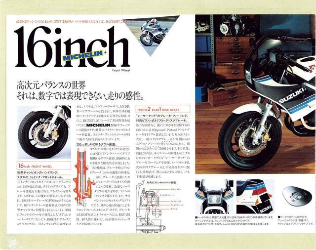 画像7: 【付録】貴重なRG250Γ発売当時のカタログ