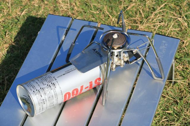 画像: ③カセットガスを使うロングセラーストーブ SOTO「レギュレーターストーブST-310」