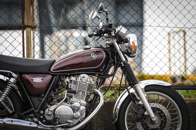 画像3: クラシックバイクで最も洗練されたSR400