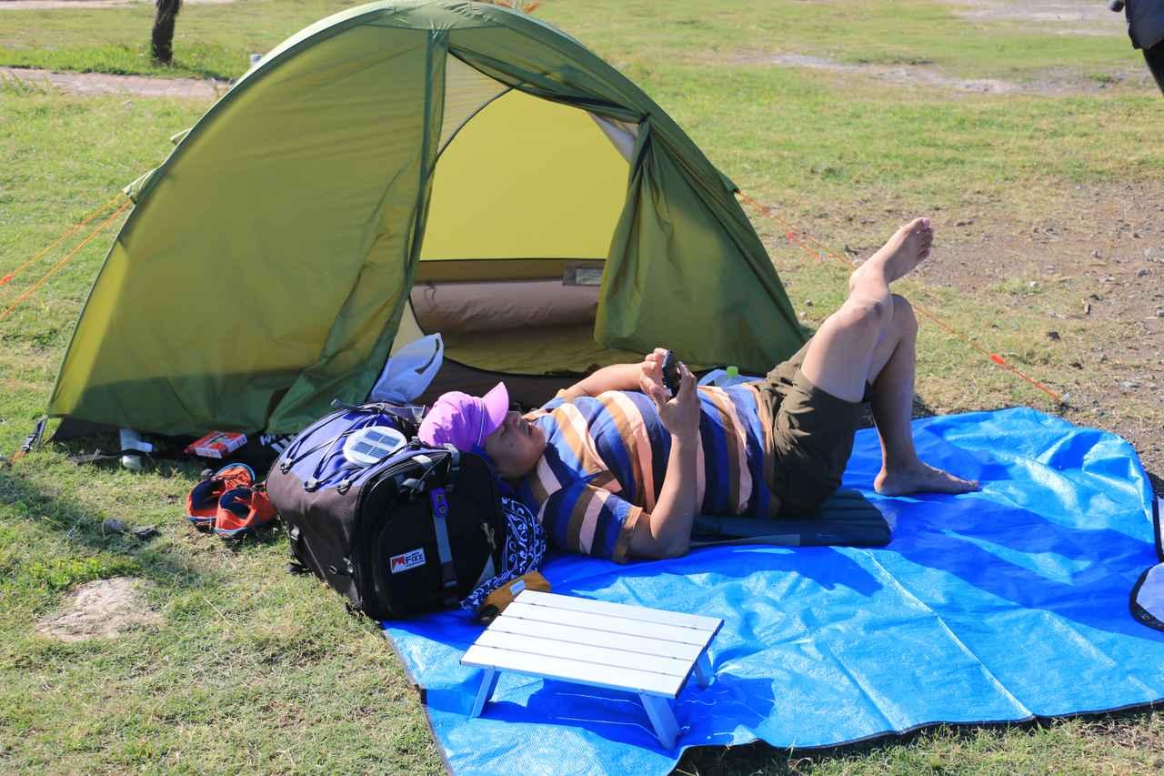 画像2: 【おまけ】使用テントはこちら! アライテント「トレックライズ1」