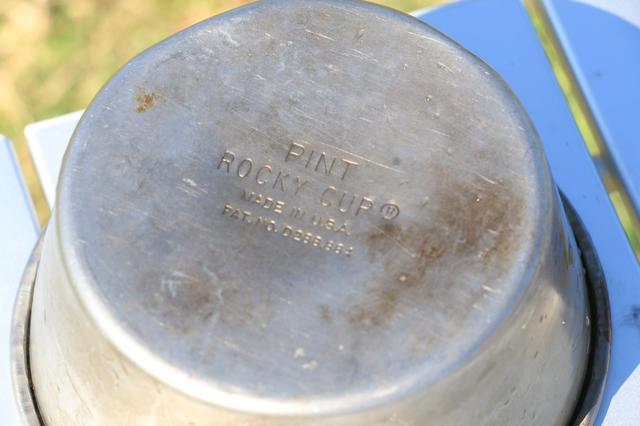 画像2: ③ただのステンレスカップが中古市場で高騰中!? 「ロッキーカップ」