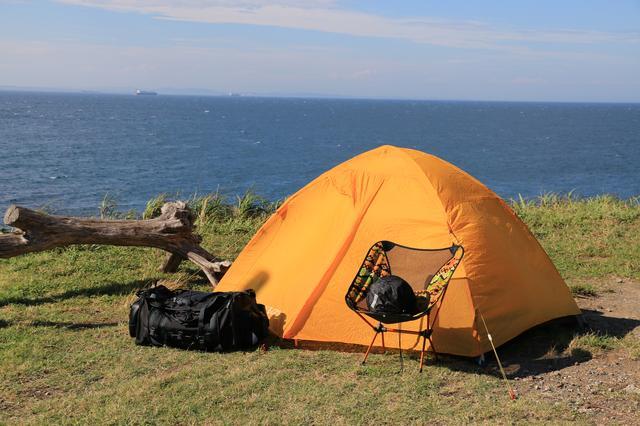画像: 【おまけ】使用しているテントはこちら! ダンロップテント「VL-3」