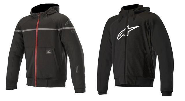 画像: あなたはどっち派? アルパインスターズから気軽に着られるパーカースタイルのライディングジャケットが2種類、新登場! - webオートバイ