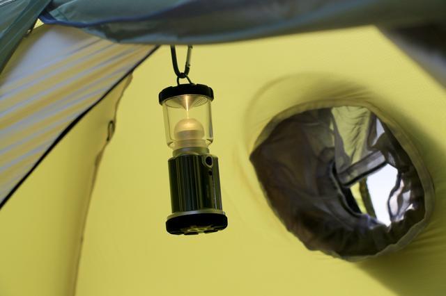 画像2: ②ホームセンターでも買える優秀な電池ランタン ジェントス「エクスプローラー EX-837NX」
