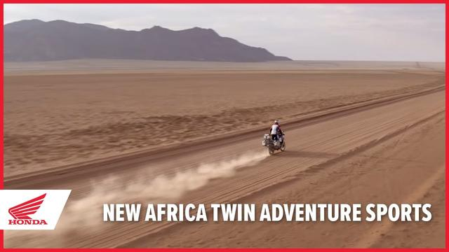 画像: New 2020 Africa Twin Adventure Sports www.youtube.com
