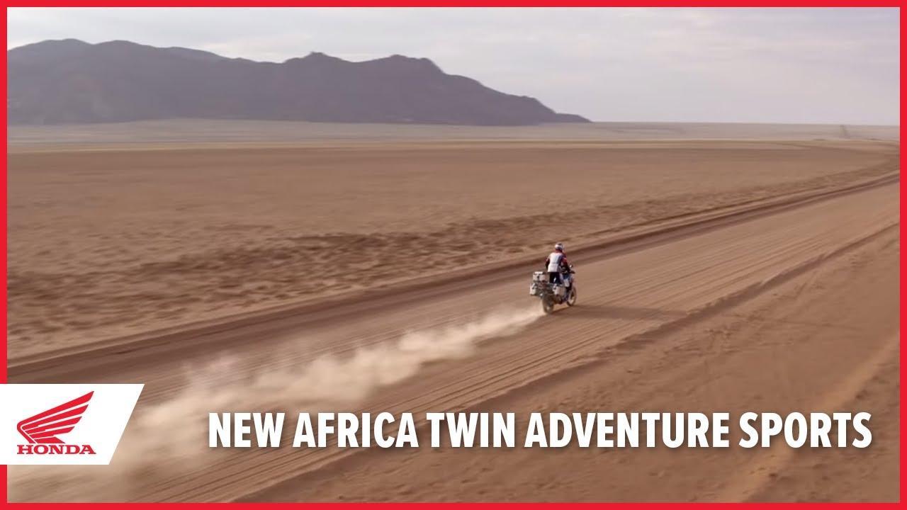 画像: New 2020 Africa Twin Adventure Sports www.youtube.com