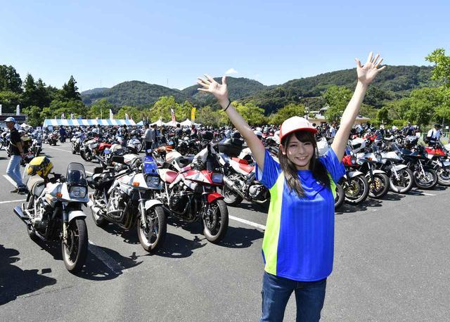 画像1: 「KATANAミーティング2019」に参加してきました!【連載第22回】もっと上手くなりたい! 葉月美優のGSX250R RIDING DIARY - webオートバイ