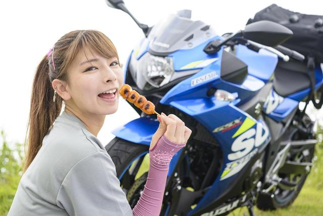 画像: 葉月美優×SUZUKI GSX250R in 福島県【オートバイ女子部のフォトアルバム】 - webオートバイ